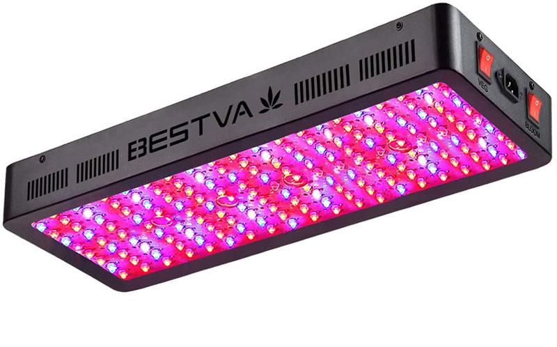BESTVA DC Series 2000W LED Grow Light Full Spectrum